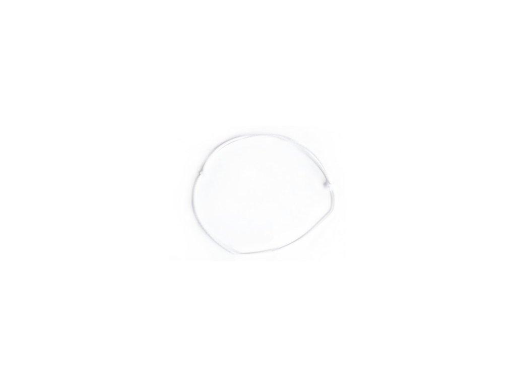 biela gumička