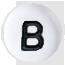 B biele