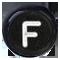 F čierne