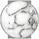 biely mramorovaný