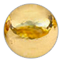 malý zlatý korálik
