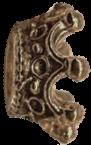 malá bronzová korunka